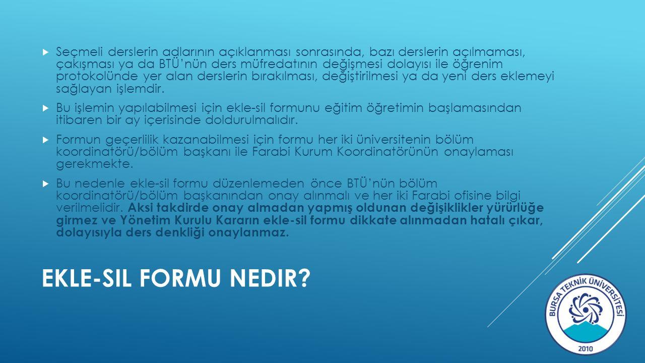 EKLE-SIL FORMU NEDIR.