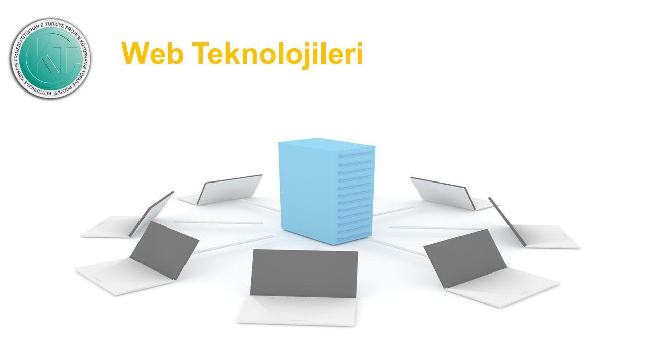 Web Teknolojileri