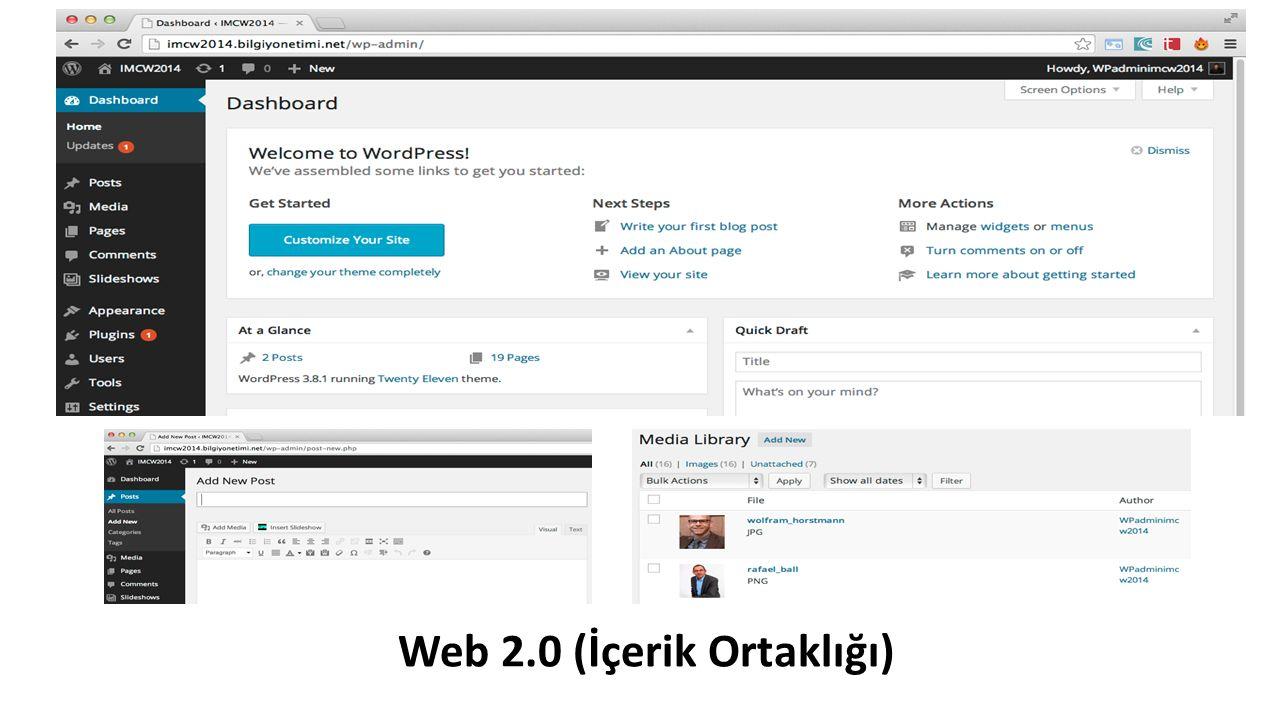 Web 2.0 (İçerik Ortaklığı)