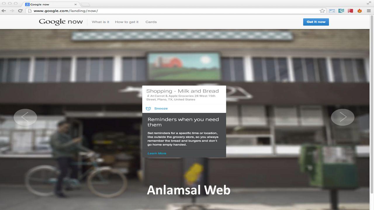 Anlamsal Web