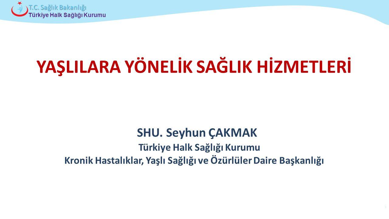 Çocuk ve Ergen Sağlığı Daire Başkanlığı Türkiye Halk Sağlığı Kurumu T.C. Sağlık Bakanlığı SHU. Seyhun ÇAKMAK Türkiye Halk Sağlığı Kurumu Kronik Hastal