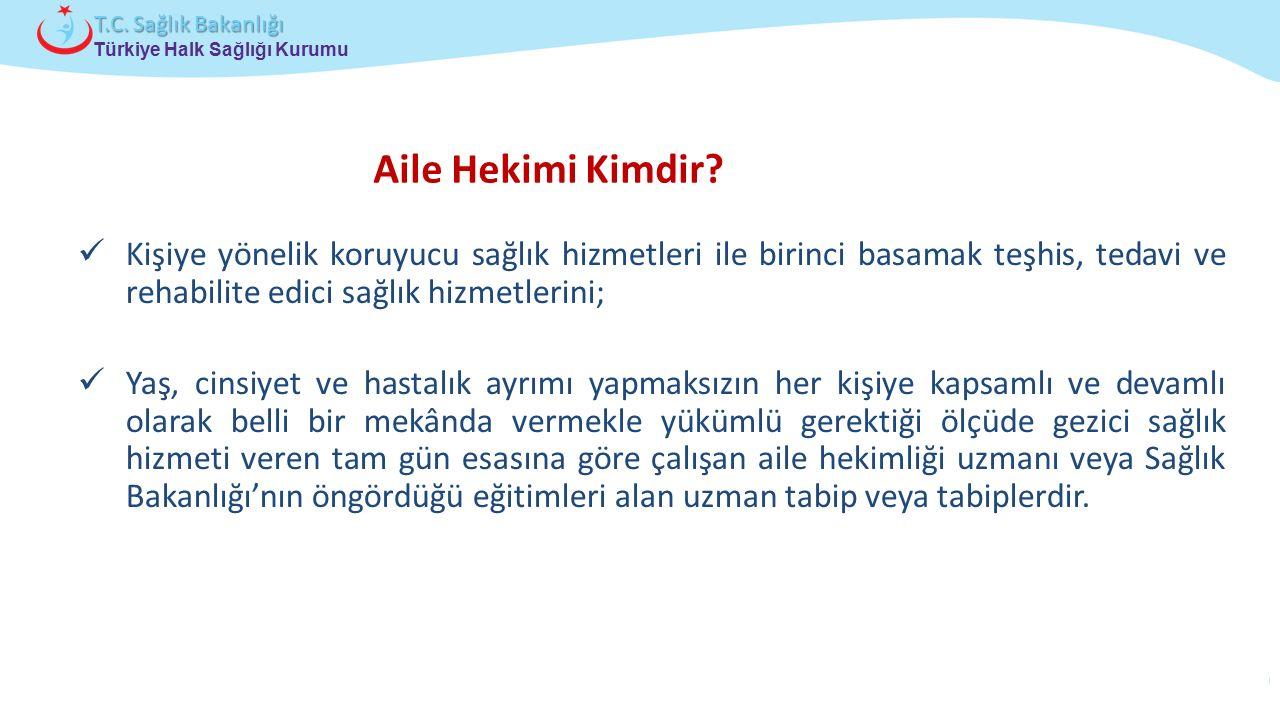 Çocuk ve Ergen Sağlığı Daire Başkanlığı Türkiye Halk Sağlığı Kurumu T.C. Sağlık Bakanlığı Kişiye yönelik koruyucu sağlık hizmetleri ile birinci basama