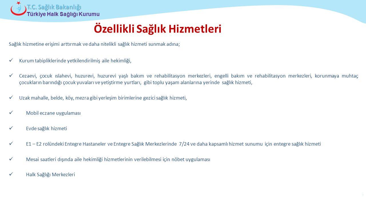 Çocuk ve Ergen Sağlığı Daire Başkanlığı Türkiye Halk Sağlığı Kurumu T.C. Sağlık Bakanlığı Sağlık hizmetine erişimi arttırmak ve daha nitelikli sağlık