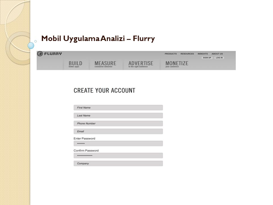 Mobil Uygulama Analizi – Flurry -