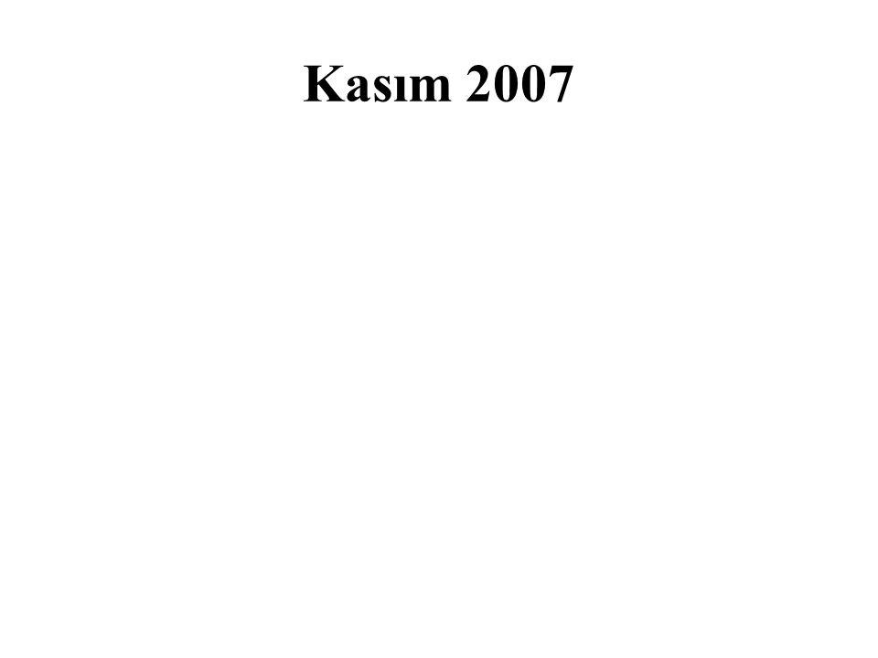 Kasım 2007
