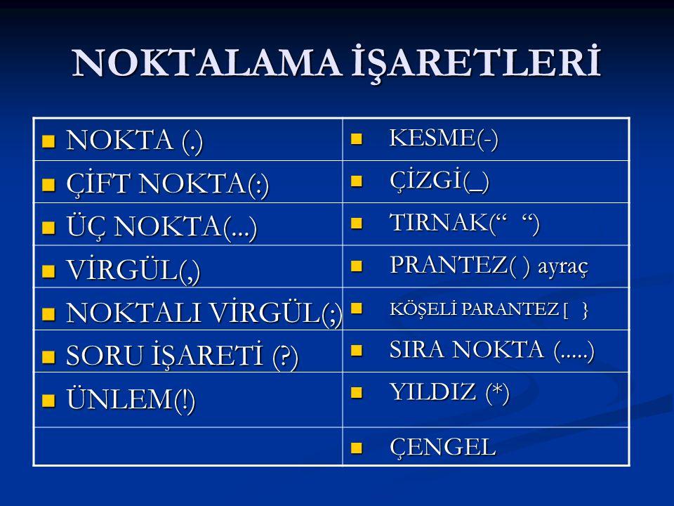 BÜYÜK HARF NERELERDE KULLANILIR-5 .