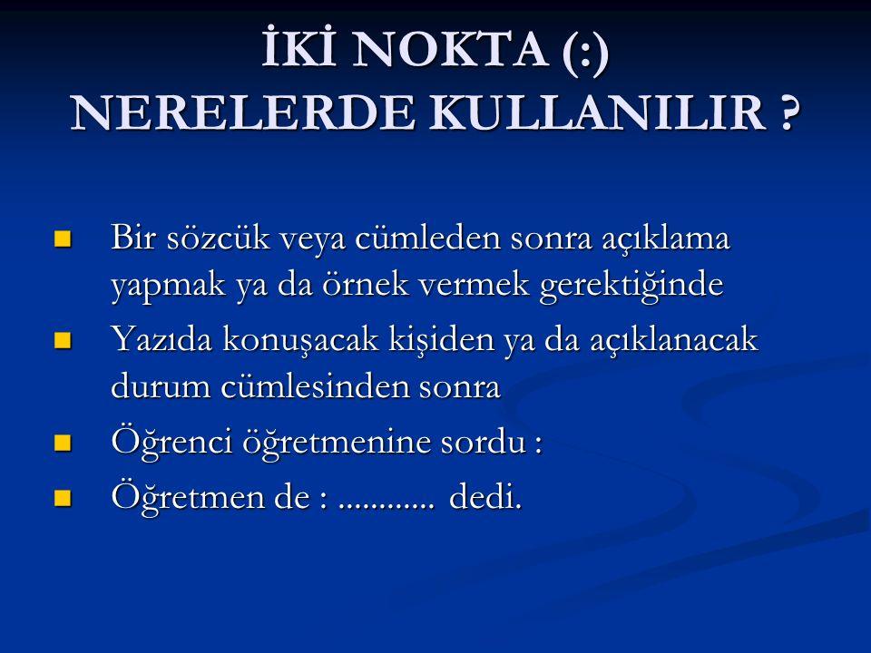 BÜYÜK HARF NERELERDE KULLANILIR-9 .