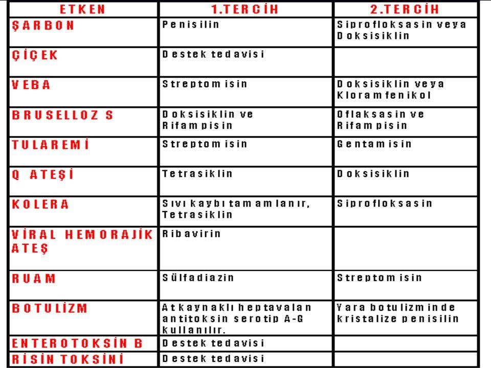 Risin Ricinus communis Giriş yolu: Sindirim, solunum Enkübasyon süresi: 24-72 saat Bulaşıcılık: Yok Ölüm oranı: Yüksek Semptomlar: – – Mide bulantısı, kusma – – Karında kramplar, kanlı ishal – – Solunum güçlüğü