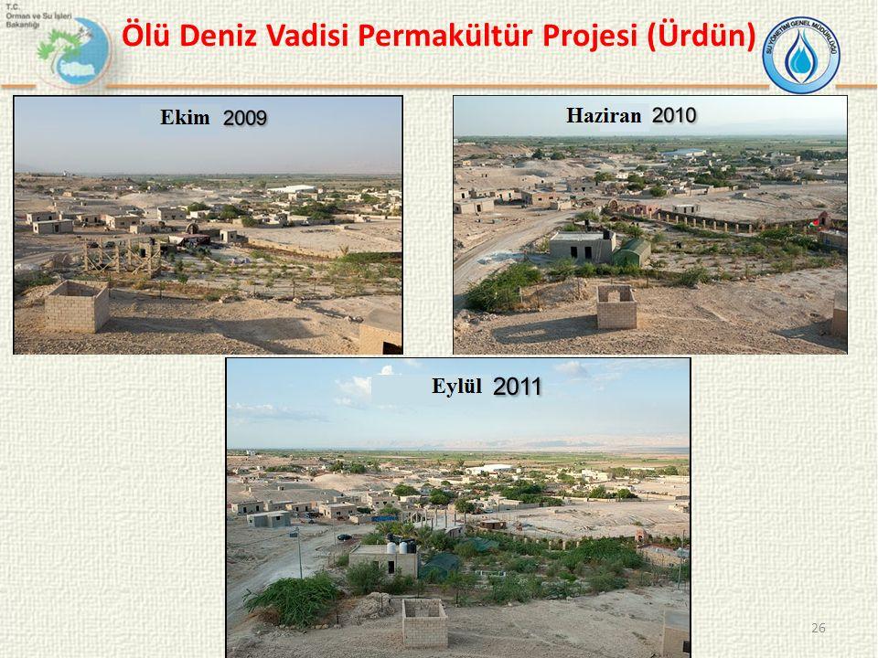 26 Ölü Deniz Vadisi Permakültür Projesi (Ürdün)