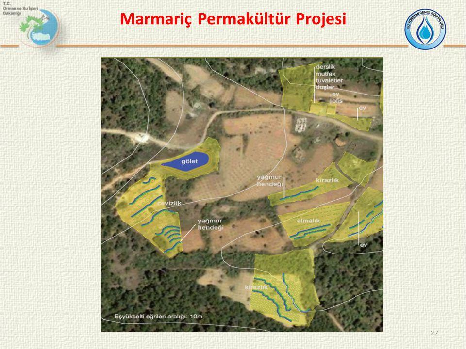 27 Marmariç Permakültür Projesi