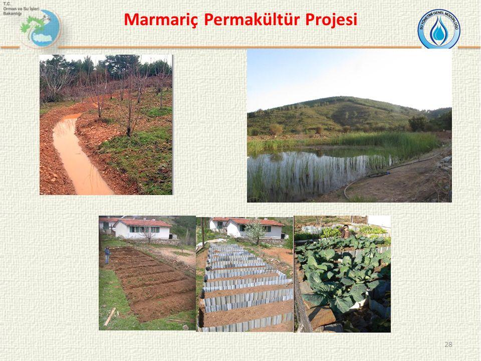 28 Marmariç Permakültür Projesi