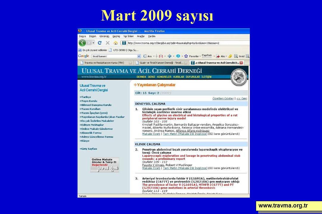 Mart 2009 sayısı