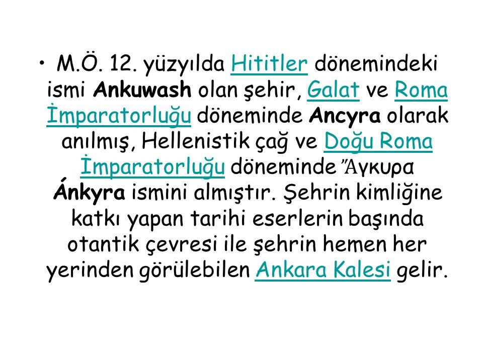 Anadolu nun merkezindeki İç Anadolu Bölgesi nde bulunan Ankara ilinin de merkezidir.