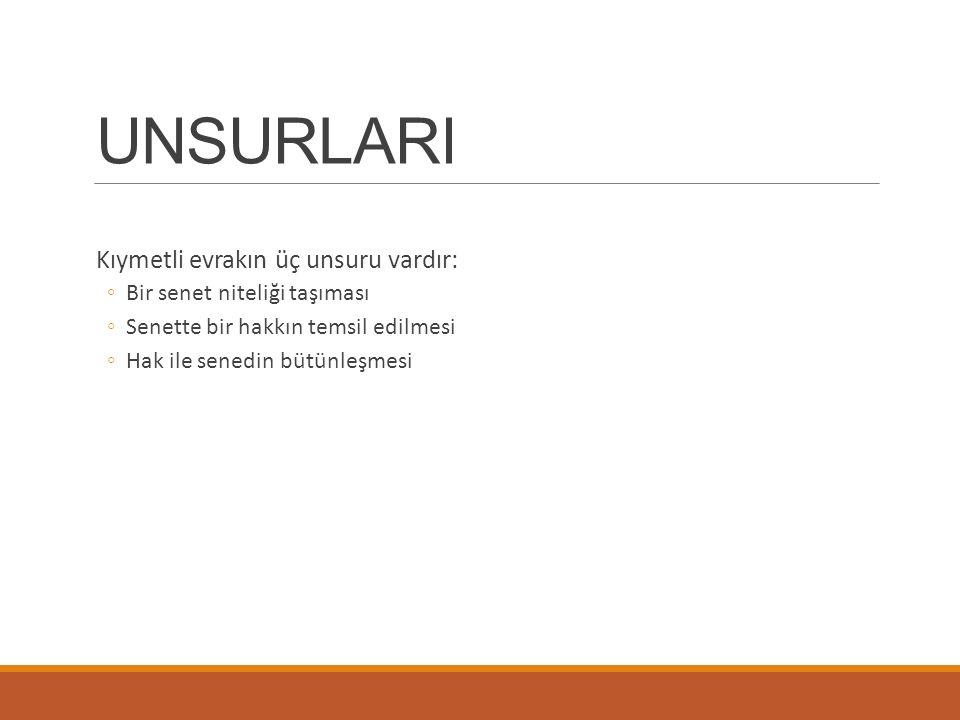 ÇEK NİTELİĞİ TAŞIMAYAN ÇEKLER Uygulamada adı çek olarak geçmekle birlikte, Türk Ticaret Kanunu ve Çek Kanunu hükümleri kapsamına girmeyen çeşitli belgeler de kullanılmaktadır.