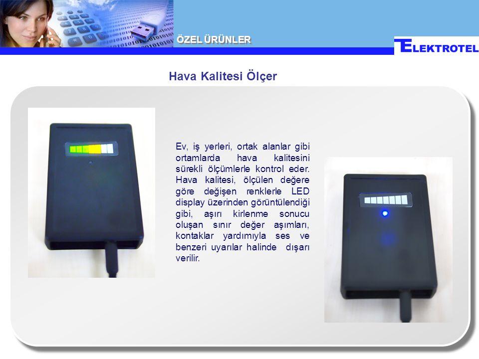 Hava Kalitesi Ölçer Ev, iş yerleri, ortak alanlar gibi ortamlarda hava kalitesini sürekli ölçümlerle kontrol eder.