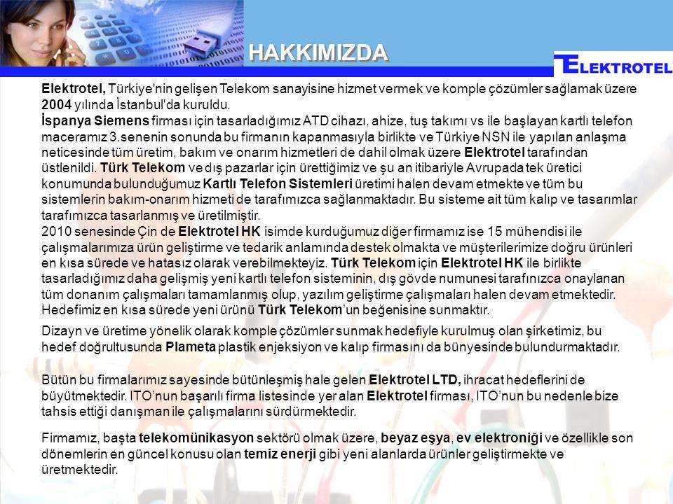 Telekomünikasyon Ürünleri Aydınlatma Temiz Enerji Sistemleri Özel Ürünler Elektromekanik ve Mekanik Tasarımlar Endüstriyel Ürünler ÜRÜNLERİMİZ