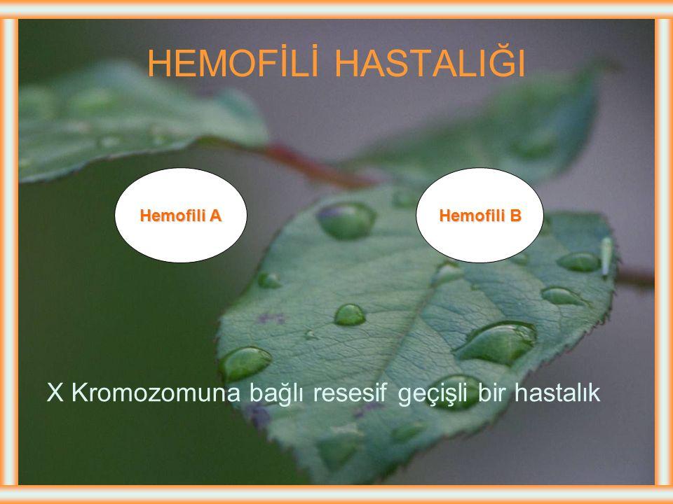 KANAMA BOZUKLUKLARI 1.Hemofili 2.Yaygın damar içi koagülasyonu (Dissemine Intravascular Coagulation-DIC) 3.İdiopatik trombositopenik purpura