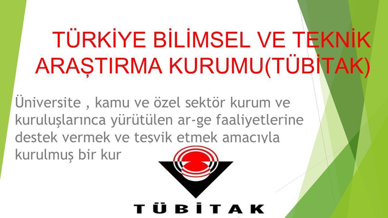 TARİHÇE TÜBİTAK, Türkiye nin dönemine geçişiyle birlikte, 24.7.1963 tarih ve 11462 sayılı Resmi Gazete de genç bilim adamlarını desteklemek iken bugün bünyesinde barındırdığı onlarca birimle birlikte, tarım politikalarının yönlendirilmesinden, Ar-ge projelerinin desteklenmesine kadar farklı alanları kapsayan bir misyona sahiptir.TürkiyeResmi GazeteAr-ge
