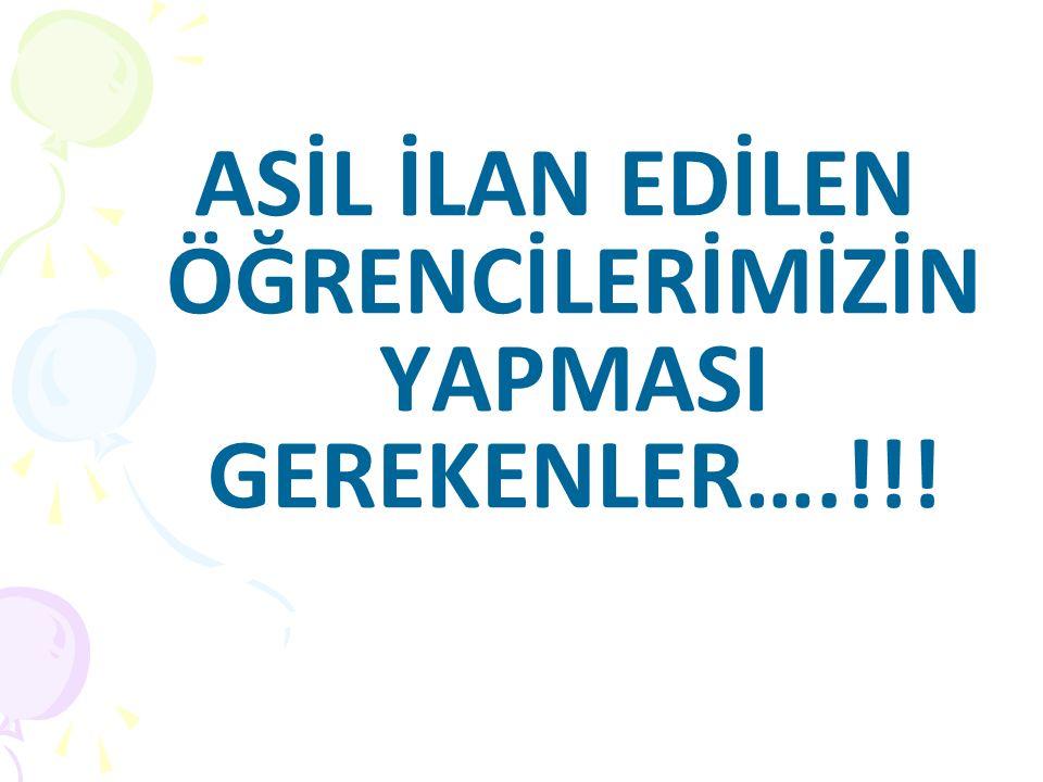 Erasmus Aday Asil Öğrenci kimdir.
