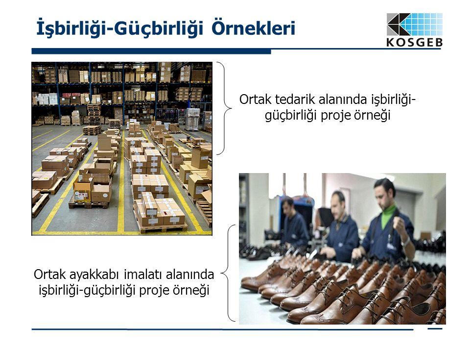 İşbirliği-G üç birliği Örnekleri Ortak tedarik alanında işbirliği- güçbirliği proje örneği Ortak ayakkabı imalatı alanında işbirliği-güçbirliği proje