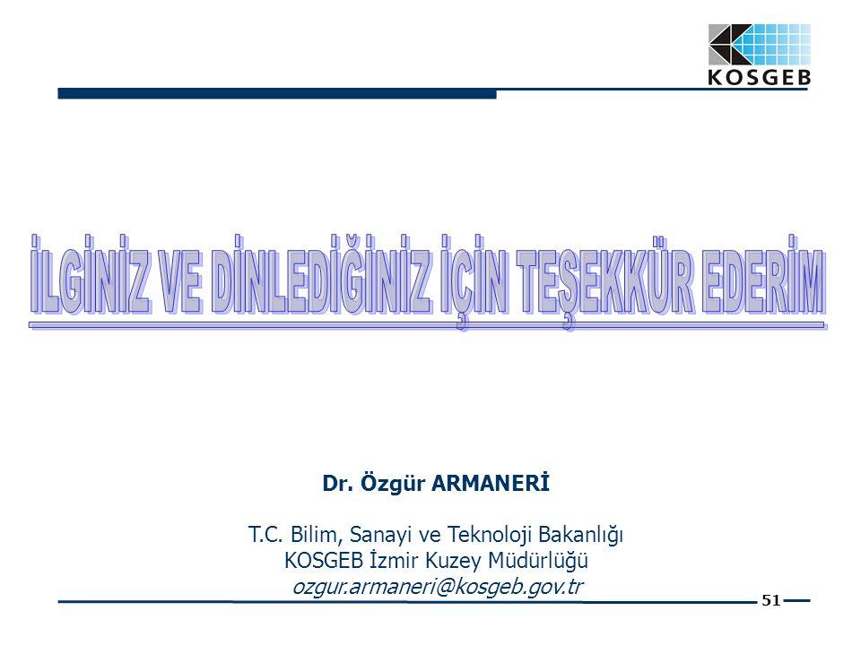 51 Dr. Özgür ARMANERİ T.C.