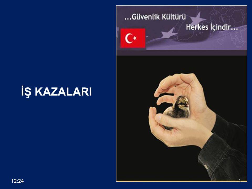 12:261 İŞ KAZALARI