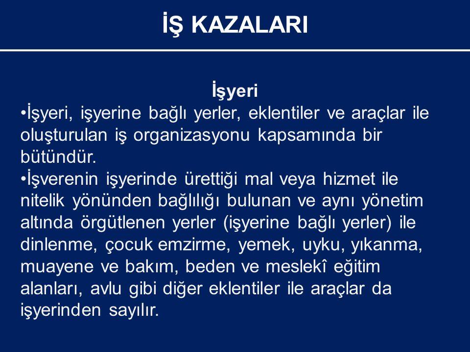 Görgü tanığı ile görüşürken, aşağıdaki hususlar ise yapılmamalıdır: İŞ KAZALARI