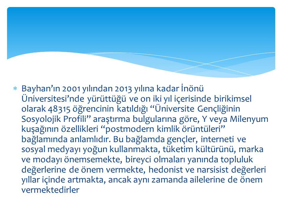 """ Bayhan'ın 2001 yılından 2013 yılına kadar İnönü Üniversitesi'nde yürüttüğü ve on iki yıl içerisinde birikimsel olarak 48315 öğrencinin katıldığı """"Ün"""
