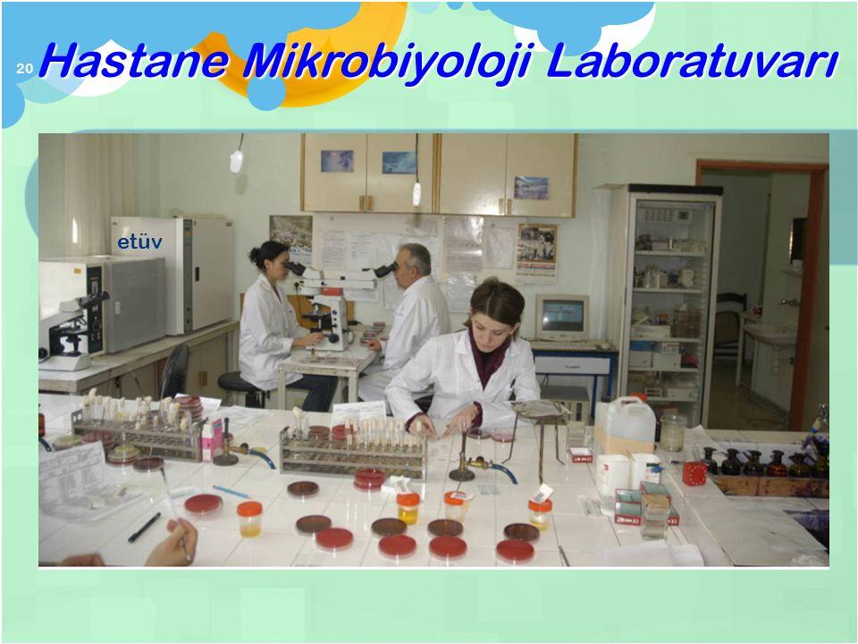 Tıbbi Mikrobiyoloji Laboratuvarı nasıl çalı ş ır? 19