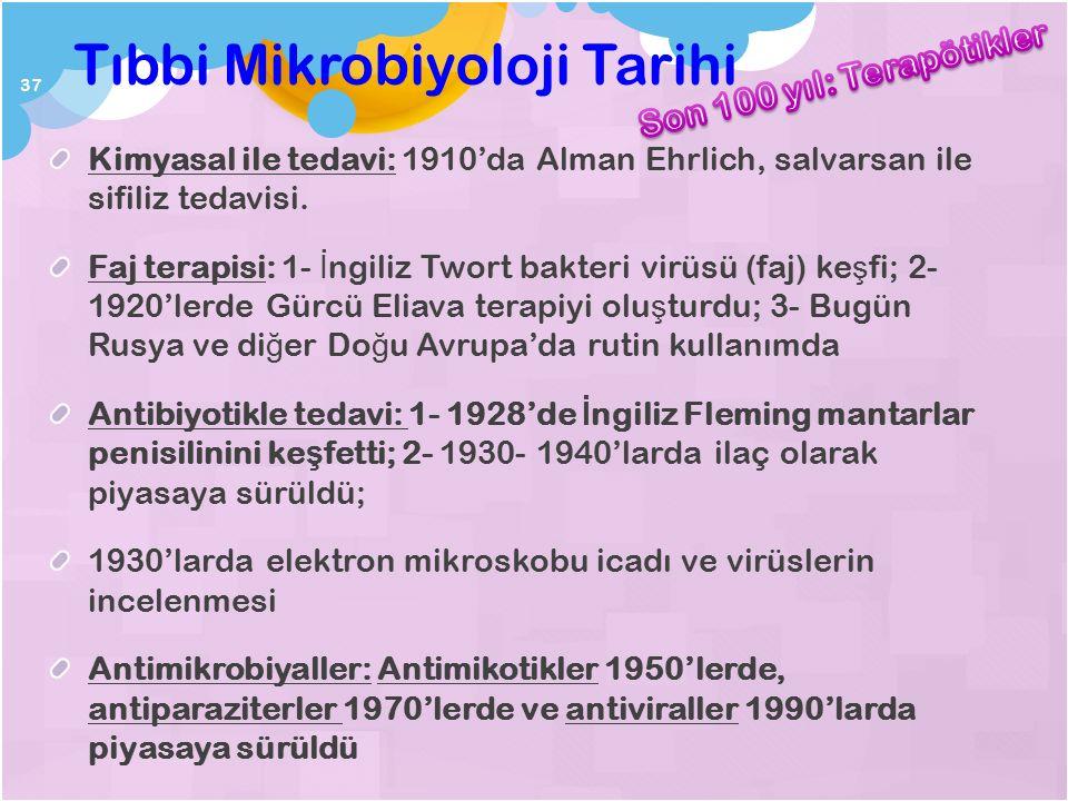 Tıbbi Mikrobiyoloji Tarihi II.Abdülhamid 1893'de İ stanbul'da Bakteriyoloji Müessesesinde Doktorlar Nicolle, Güran, Ş ehzadeba ş ı, Kolaylı: A ş ılar:
