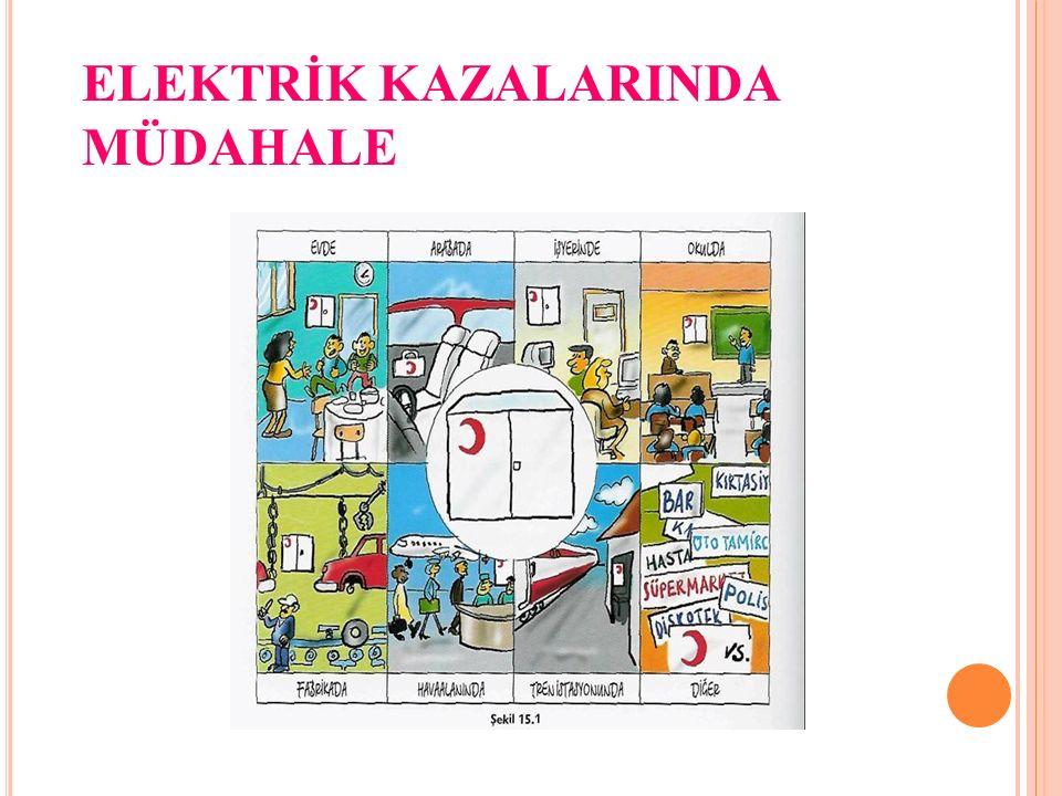 ELEKTRİK KAZALARINDA MÜDAHALE