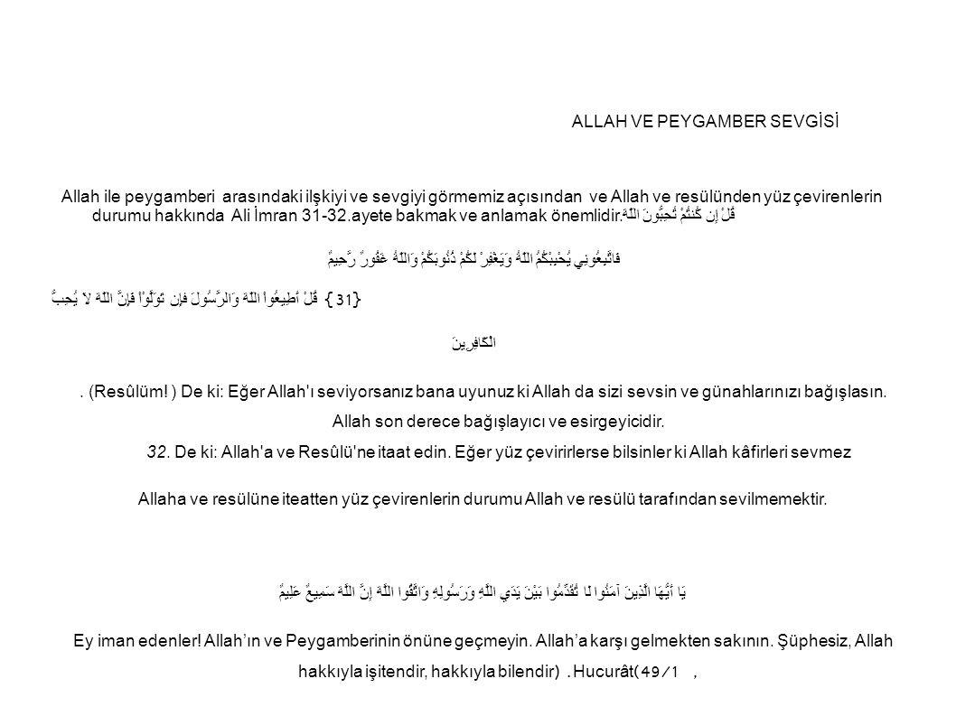 Allah'a ortak koşmanın herhangi bir mazereti olmadığı gibi, anne ve babaya kötü davranmanın da haklı bir mazereti yoktur.