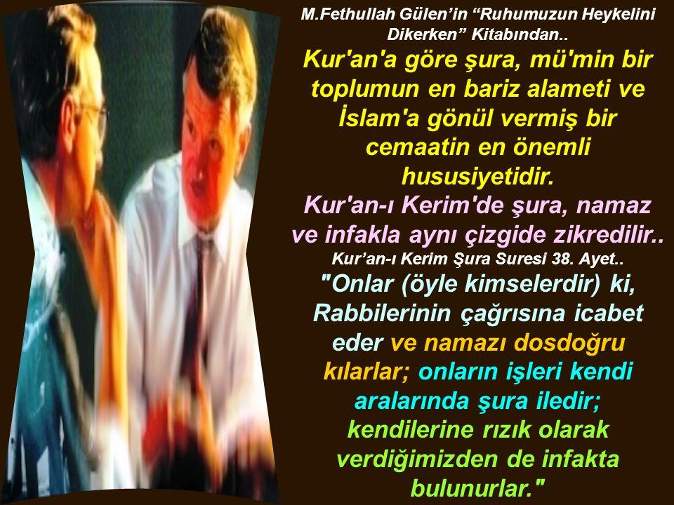 M.Fethullah Gülen'in Ruhumuzun Heykelini Dikerken Kitabından..