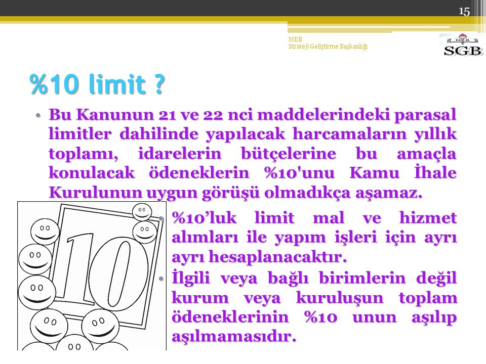 15 %10 limit .