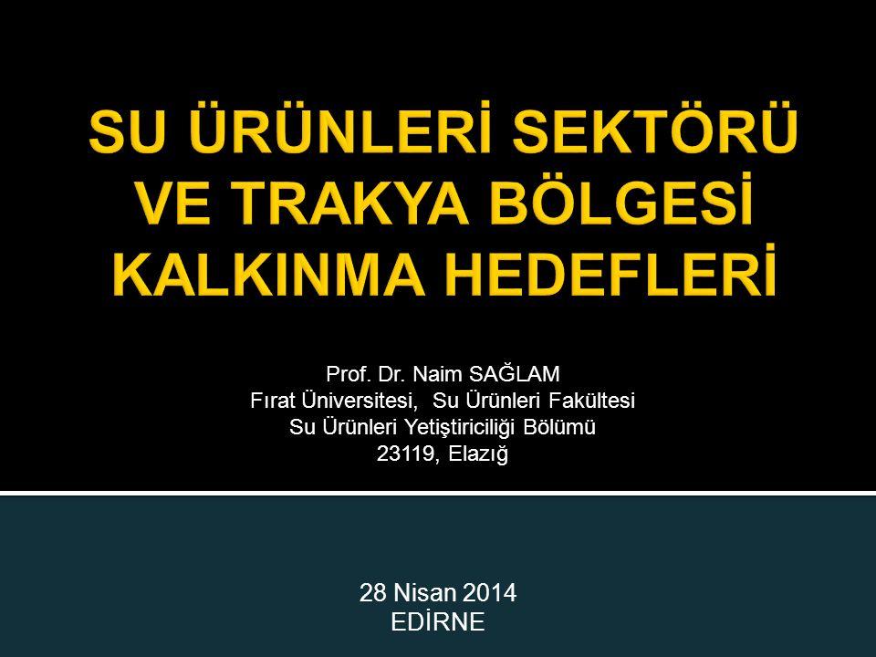 28 Nisan 2014 EDİRNE Prof. Dr.