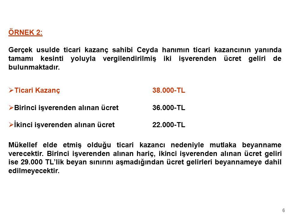 17 KAR PAYLARININ VERGİLENDİRİLMESİ (GVK MD.