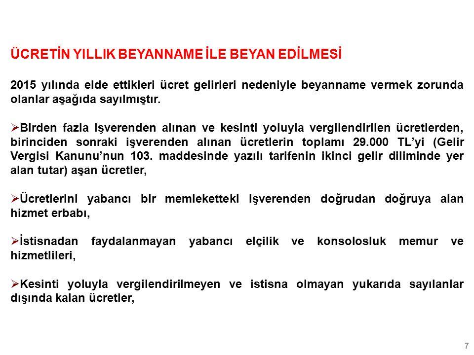 48 Örneğin; Osman Bey 24.08.2012'de 200.000 TL' ye satın almış olduğu bir arsayı 18.11.2015'de 500.000 TL' ye satmıştır.