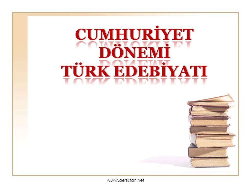 İKİNCİ YENİ Cemal Süreya, İlhan Berk, Edip Cansever, Ece Ayhan, Turgut Uyar, Sezai Karakoç...