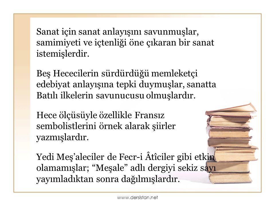 MİTHAT CEMAL KUNTAY(1885-1956) Milli edebiyatçıların dil anlayışlarına uygun olarak hem heceyle hem de aruzla epik şiirler yazmıştır.