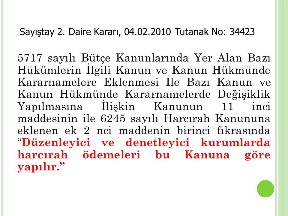 5717 sayılı Bütçe Kanunlarında Yer Alan Bazı Hükümlerin İlgili Kanun ve Kanun Hükmünde Kararnamelere Eklenmesi İle Bazı Kanun ve Kanun Hükmünde Kararn