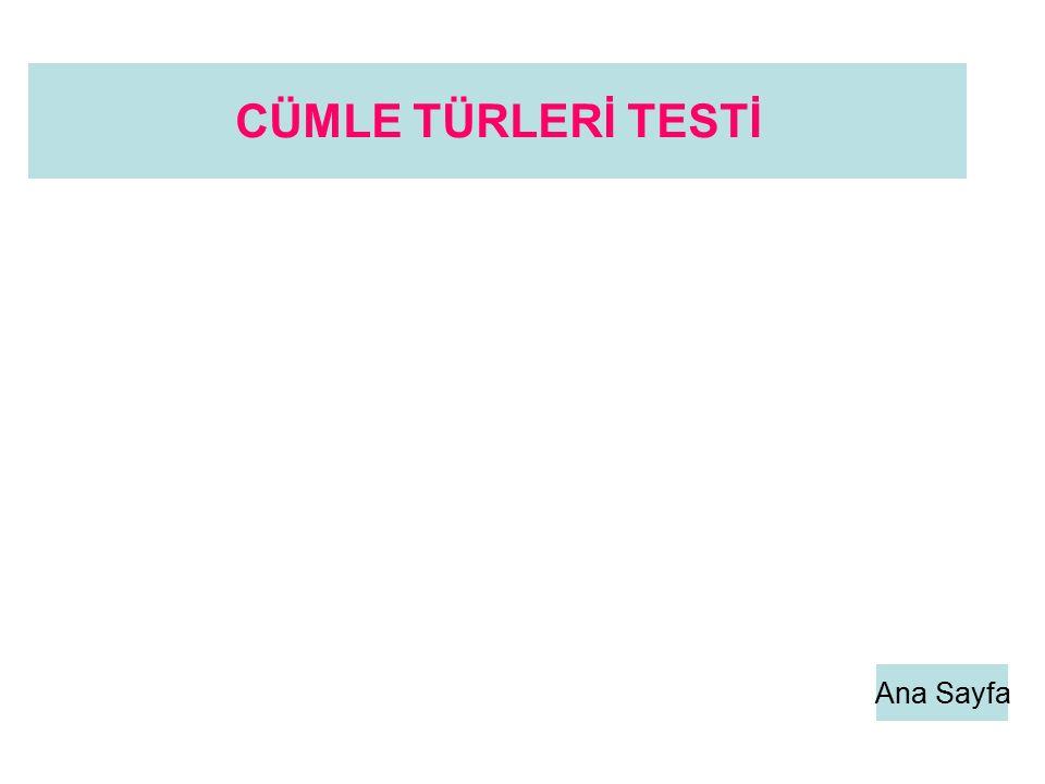 Ana Sayfa CÜMLE TÜRLERİ TESTİ