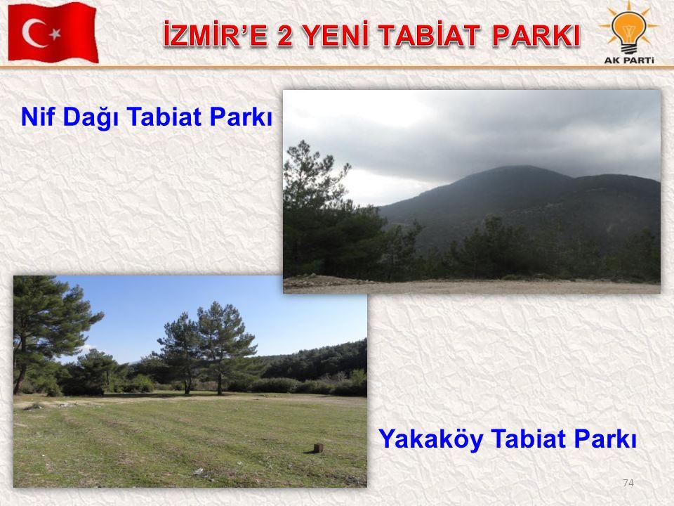 74 Nif Dağı Tabiat Parkı Yakaköy Tabiat Parkı