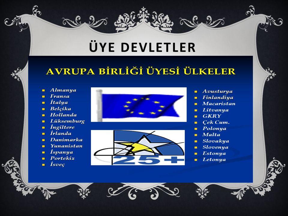 ÜYE DEVLETLER