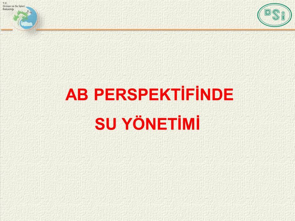 AB PERSPEKTİFİNDE SU YÖNETİMİ