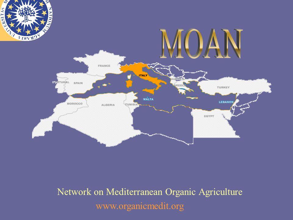 Network on Mediterranean Organic Agriculture www.organicmedit.org