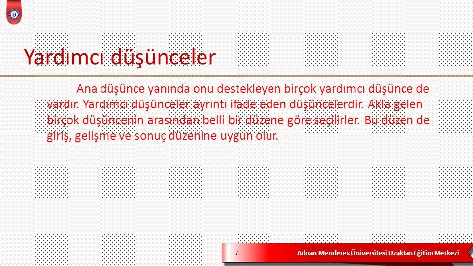 Adnan Menderes Üniversitesi Uzaktan Eğitim Merkezi 28 Türkçe bitki adları başlığına bir âlem; çok zekice hatta muzipçe olanları var.