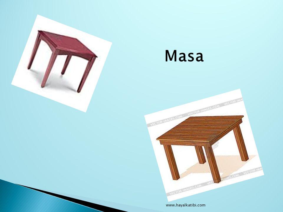 Masa www.hayalkatibi.com
