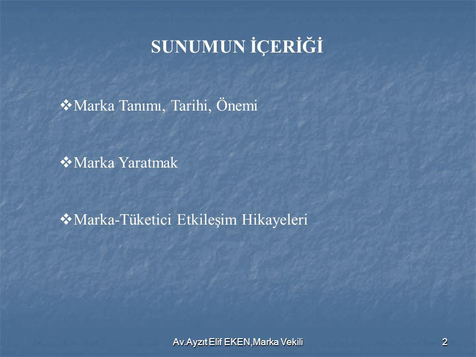 Av.Ayzıt Elif EKEN,Marka Vekili23  DUŞAKABİN: Firma, duş kabini üretimiyle 1984 yılında Türkiye'de piyasaya girmiştir.