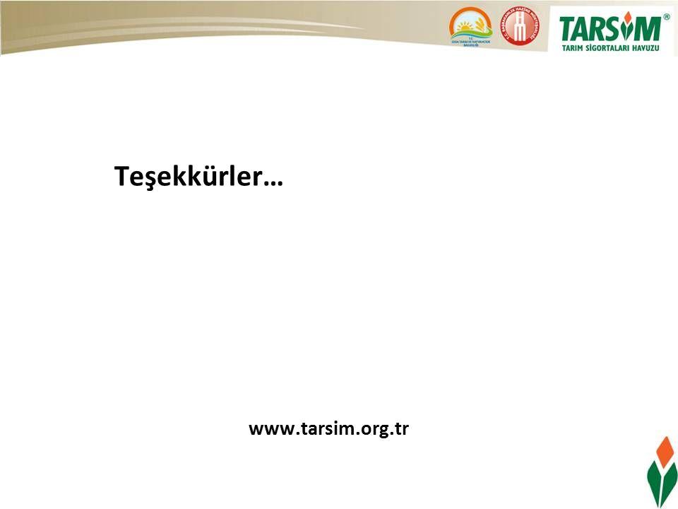 Teşekkürler… www.tarsim.org.tr
