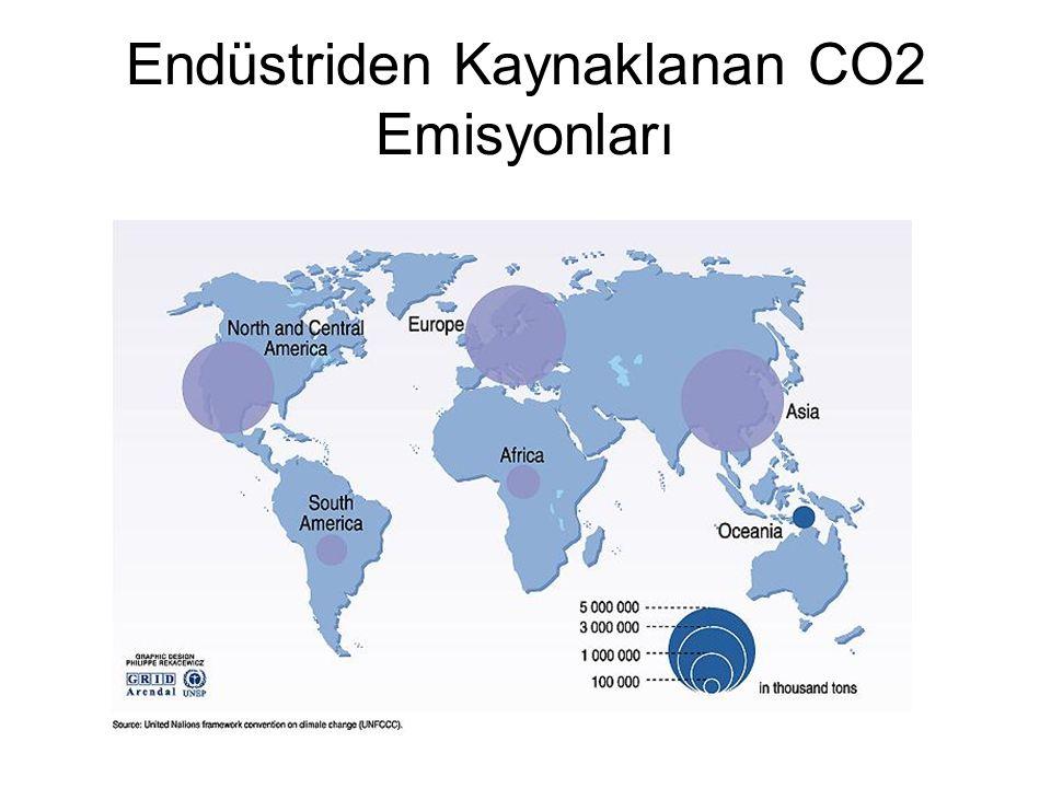 Endüstriden Kaynaklanan CO2 Emisyonları